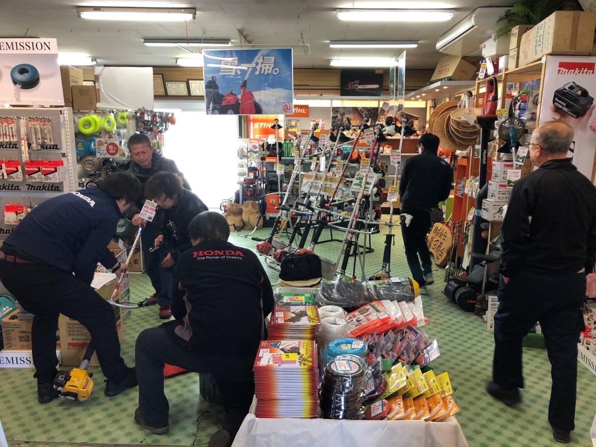 鷲田商会春の商談会